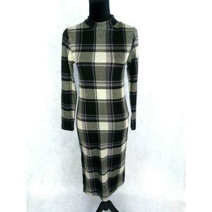 Forever21 Plaid Dress Size M Defect
